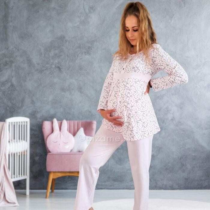 Pižama za nosečnice Amelie