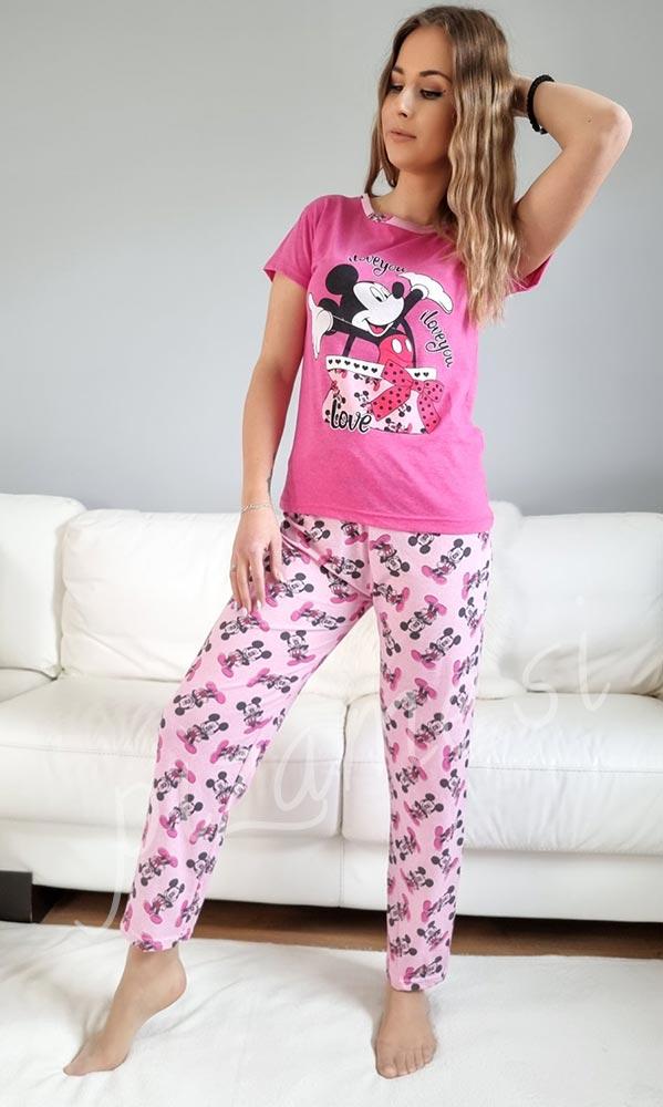 Pizama Mickey pink 1