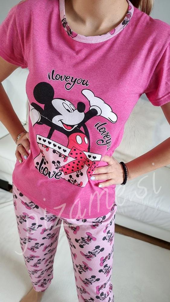 Pizama Mickey pink 2