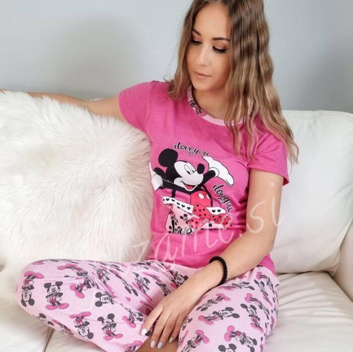 Pizama Mickey pink 5