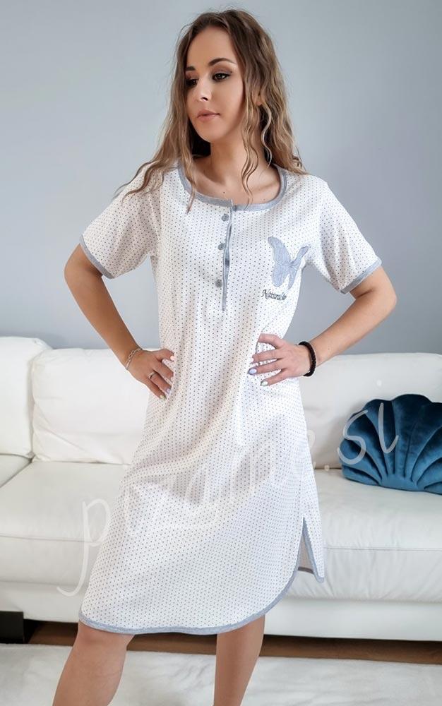 Spalna srajca Daisy bela 3
