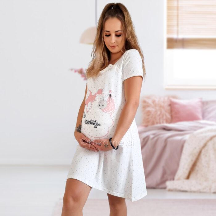 Spalna srajca za nosečnice Emilie